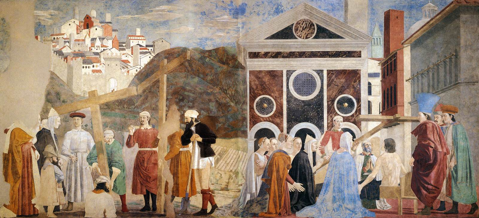 Piero della Francesca Finding and Recognition of the True Cross 1452 66